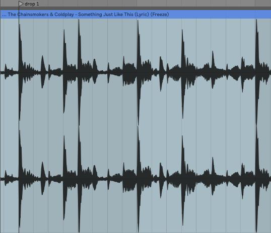 3 különböző erősségű kick hangképe.